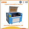 Bois, acrylique, aluminium, plastique, machine de gravure de laser de CO2
