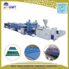 Chaîne de production en plastique de panneau de tuile de feuille de toiture d'onde de PVC+PP+Pet