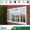 De commerciële Prijs van het Openslaand raam van het Glas van het Venster UPVC Dubbele voor Huis