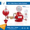 Válvula de retenção de alarme Tyco Fire Products para o sistema de sistema de extinção de incêndio