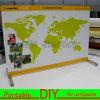 Soporte grande de la bandera de la exposición modular portable de la feria profesional de la aduana DIY
