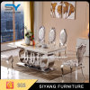ダイニングテーブルの家具の一定の食堂はレストラン表をセットする