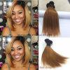 Brasilianisches gerades Glück der Jungfrau-Haar Ombre Farben-10 des Zoll-Ot1b-30