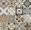 Mattonelle della decorazione di 24*24 Rustiic per la decorazione della parete e del pavimento nessuno stile spagnolo Endurable Sh6h0016/17 di slittamento