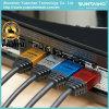 Кабель раковины 24k покрынный золотом HDMI PVC алюминиевым с локальными сетями