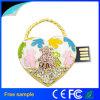Mädchen-Geschenk-Kristallinner-Form USB-Blitz-Laufwerk 8GB