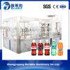 Máquina de rellenar de consumición carbonatada botella automática inferior de la bebida de la consumición