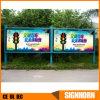 자유로운 서 있는 두루말기 발광 다이오드 표시를 광고하는 거리와 슈퍼마켓