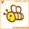 Kundenspezifisches Tierstickerei-Abzeichen, Stickerei-Änderungen am Objektprogramm, mit gesponnenem Kennsatz (YB-Stickerei 409)