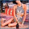 女性のための方法ビキニの水着の水着のBeachwear