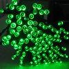 Luz psta solar da corda do diodo emissor de luz para a decoração do Natal