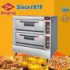 Bäckerei-Geräten-Doppelt-Plattform-kommerzieller elektrischer Pizza-Ofen für Verkauf