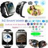 montre intelligente de poignet de Bluetooth du WiFi 3G avec la surveillance de la santé et l'appareil-photo Q18plus