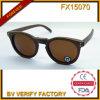 Lentille ronde de Woith Brown de lunettes de soleil du modèle Fx15170 neuf