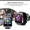 Téléphone intelligent de carte d'appareil-photo de montre-bracelet de Bluetooth pour l'iPhone androïde d'IOS d'atterrisseur de Samsung