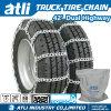 42 correntes de pneu triplas duplas da roda
