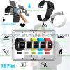 Водонепроницаемая Bluetooth Smart силиконовый браслет с фитнес-Tracker X9plus