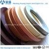 Graines de couleur/en bois solides/bordure foncée personnalisée par configuration de PVC pour des meubles