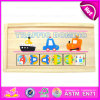 2015 capretti Wooden Domino Set Toy in Top Grade, Wooden Colored Domino Toy per Children, High Performance Wood Domino Set Toy W15A018