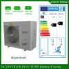 Bobina elevada interna rachada do condensador da bomba de calor da água do ar do inversor do medidor Room12kw/19kw do aquecimento de assoalho 120sq do inverno de Alemanha Evi Tech-25c