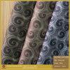 Cuoio dell'unità di elaborazione del tessuto del panno di Parttern della piuma del pavone per i pattini (CF015120E)
