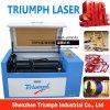 Câmara de ar da máquina de estaca 50W do laser do gravador do laser da máquina de gravura do laser do CO2 6040 do perspex