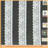 Уравновешивание шнурка ткани Nylon жаккарда Allover Bridal (X6343)