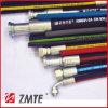 SAE 2sn 1은  Ming를 위한 덮개 유압 호스 또는 유압 오일을 반반하게 한다
