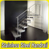 Diseño de moda de barandilla de acero inoxidable escalera