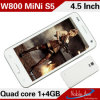 4.5inch Mini S5 Cheapest Quad Core Smart Android Mobile Phone