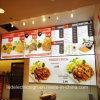 De Apparatuur van het restaurant met Lichte Doos Frameless voor Menu Boad