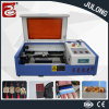 Mini macchina per incidere del laser del tavolo, macchina di marchio dell'incisione del raccoglitore con il migliore prezzo