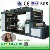 Máquina de 4 colores de alta velocidad Pila Tipo de impresión flexográfica