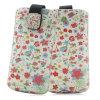 Fiore Cell Phone Leather Pouch per il iPhone 5 5s Custom Design