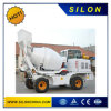 Собственная личность Silon миниая нагружая тележку конкретного смесителя с лопаткоулавливателем передней загрузкы (SL1.7R)