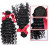 方法毛の織り方の緩い波100%の人間の毛髪の拡張