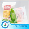 Pet / LDPE / OPP / CPP / PA Resealable laminado plástico Food Packaging Zipper Bag
