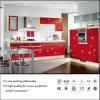 Gabinete de cozinha lustroso elevado UV branco (ZH056)