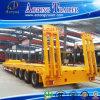 Fabricante China máquina pesada Transporte de la excavadora remolque Lowbed