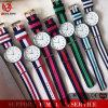 Yxl-629 Horloge van het Roestvrij staal van de Mode van het Kwarts van het Polshorloge van de NAVO van het Horloge 2015 van de Manier van de Band van de Mode van de kleur het Nylon Heetste Populaire