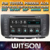 Toyota Perodua Alza를 위한 Witson Windows Car Multimedia DVD Player