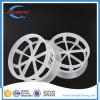 Weißer pp.-Plastikschubumkehrgitter-Miniring-gelegentliche Plastikverpackung für petrochemisches industrielles
