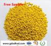 De plastic HDPE Maagdelijke Gele Kleur van Masterbatch