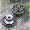 Boutons de métal en usine Jahoo Jeans