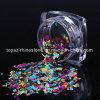 1 gesetzte bunte ultradünne Nagelsequins-Spitzen gemischtes Nagel-Funkeln Paillette 12 Maniküre-Nagel-Kunst-Funkeln der Farben-DIY (ND-17)