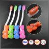Projetar o Toothbrush animal FDA do miúdo do punho do urso 3D aprovado