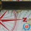 Papier décoratif de mélamine pour les meubles et les forces de défense principale HDF (K1733)