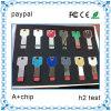 Niedrige Kosten Mini-USB-Blinken-Laufwerke, Schlüssel-USB, Metall-USB-Taste