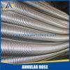 Mangueira de metal flexível de baixa pressão de aço inoxidável