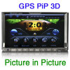7 2 DIN HD Sat Nav Lecteur DVD de voiture GPS (ES728G)